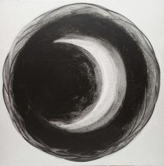 Sun & Moon(Sun)2010 mix media 128cm×128cm