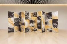 Wan Xiang 2015 Folded screen 194cm×600cm