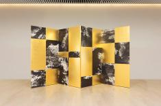 Wan Xiang 2015 Folded screen 194cm×400cm