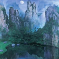 Wulingyuan,Silent 1997 127cm×127cm